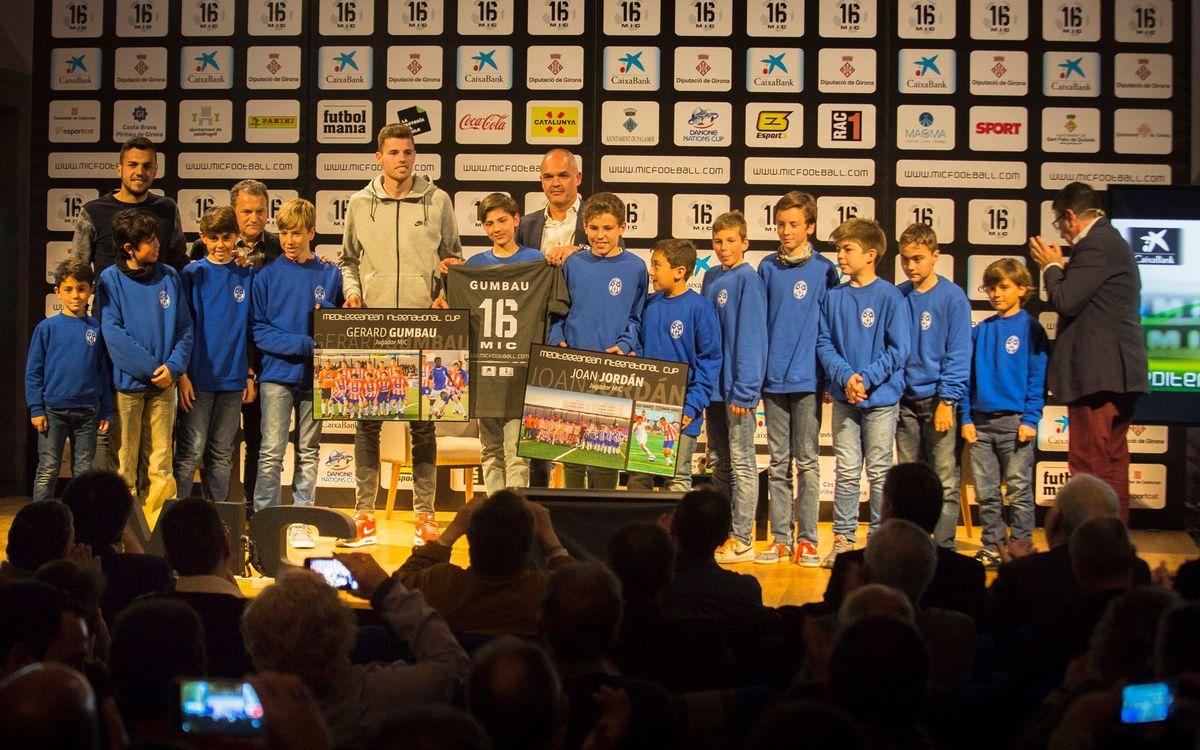Gerard Gumbau, protagonista del acto de presentación de la 16ª edición del torneo MIC en Girona
