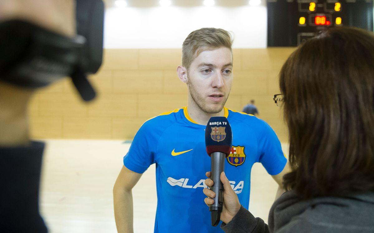 El Barça Lassa celebra el Media Day previ a la Copa d'Espanya