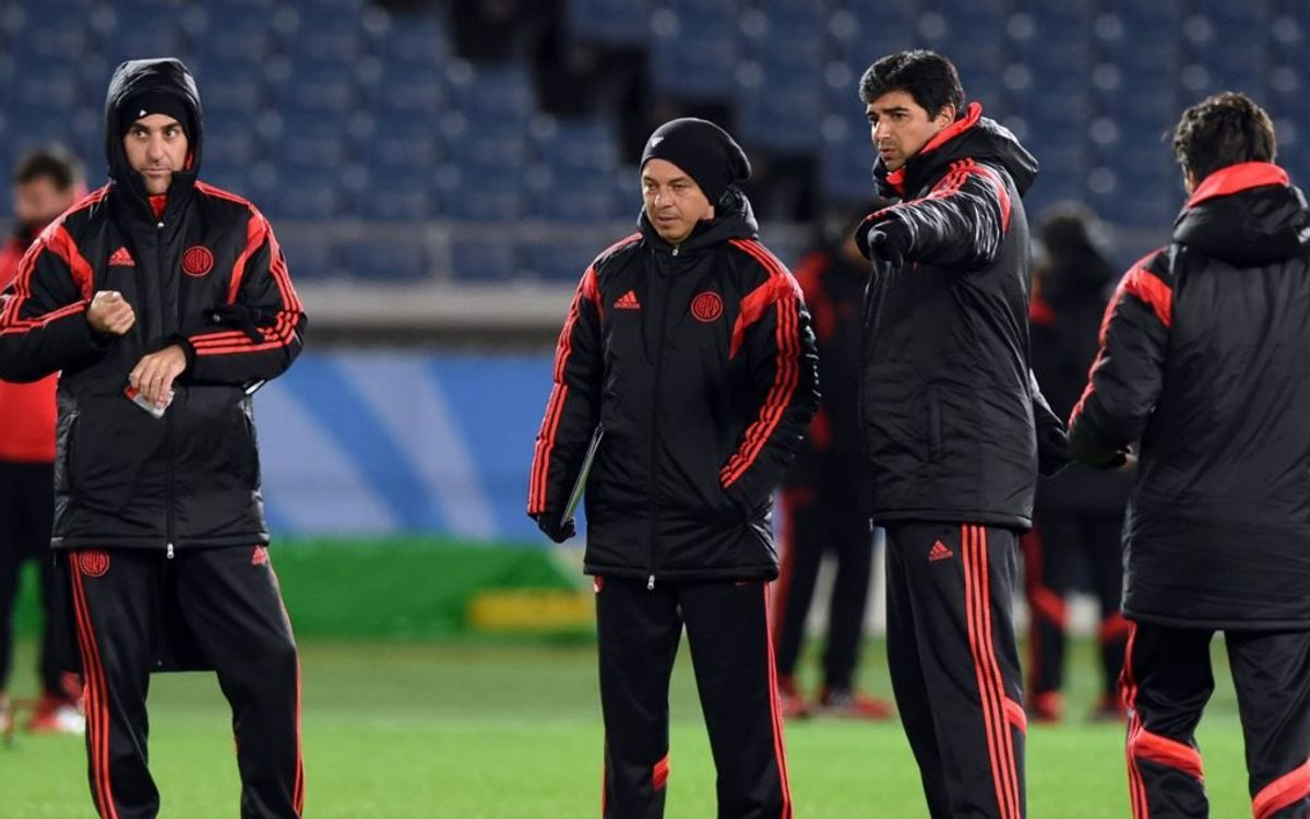 Marcelo Gallardo: 'They have the players we have the heart'