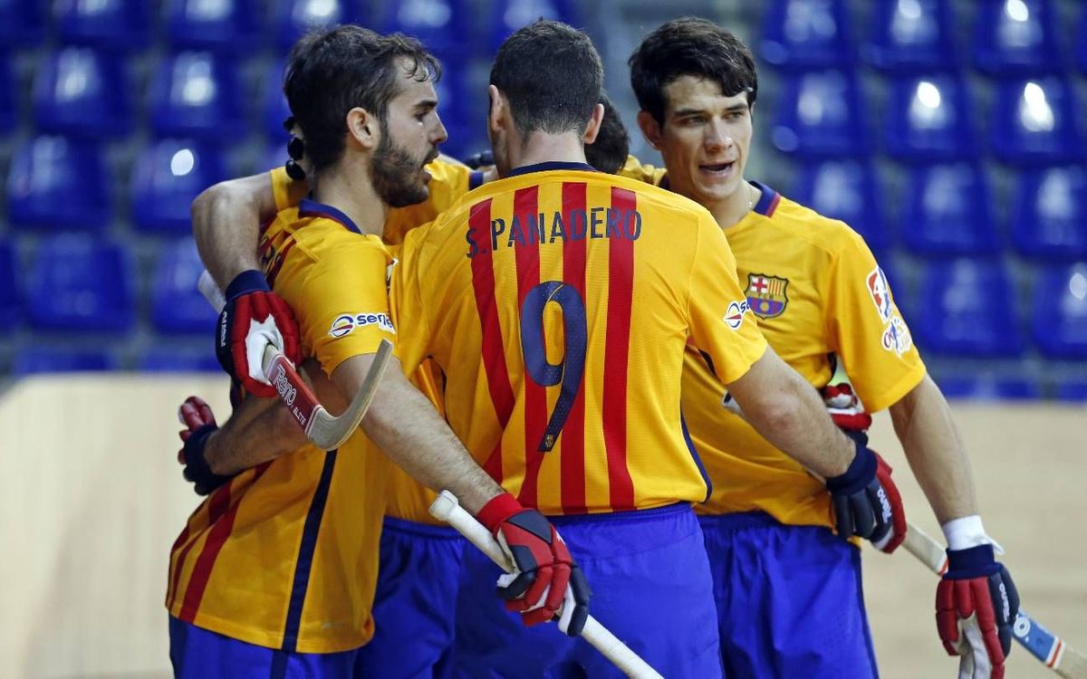 Hockey Breganze v FC Barcelona Lassa: Back from three down (4-6)