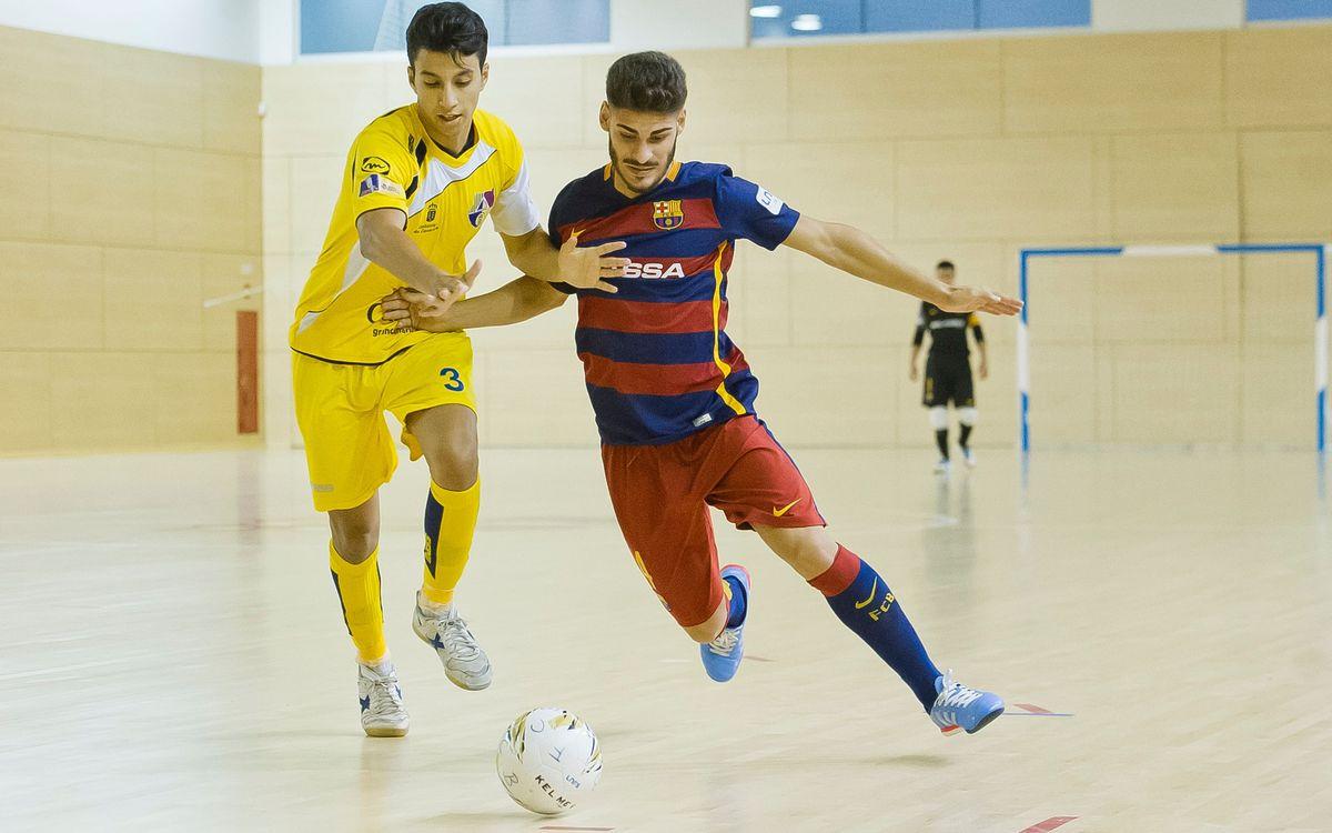Gran Canaria 2 – FC Barcelona Lassa B 3: El Barça B vuelve a ganar a domicilio