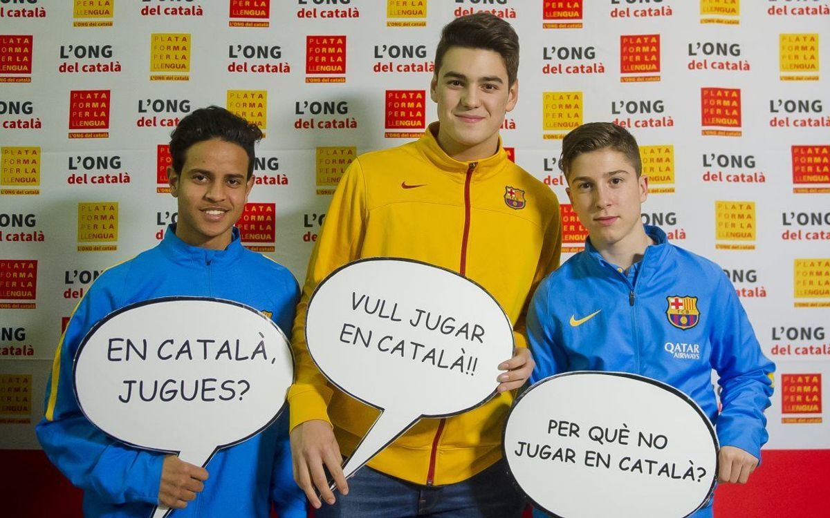 Youngsters show support for video games in Catalan language
