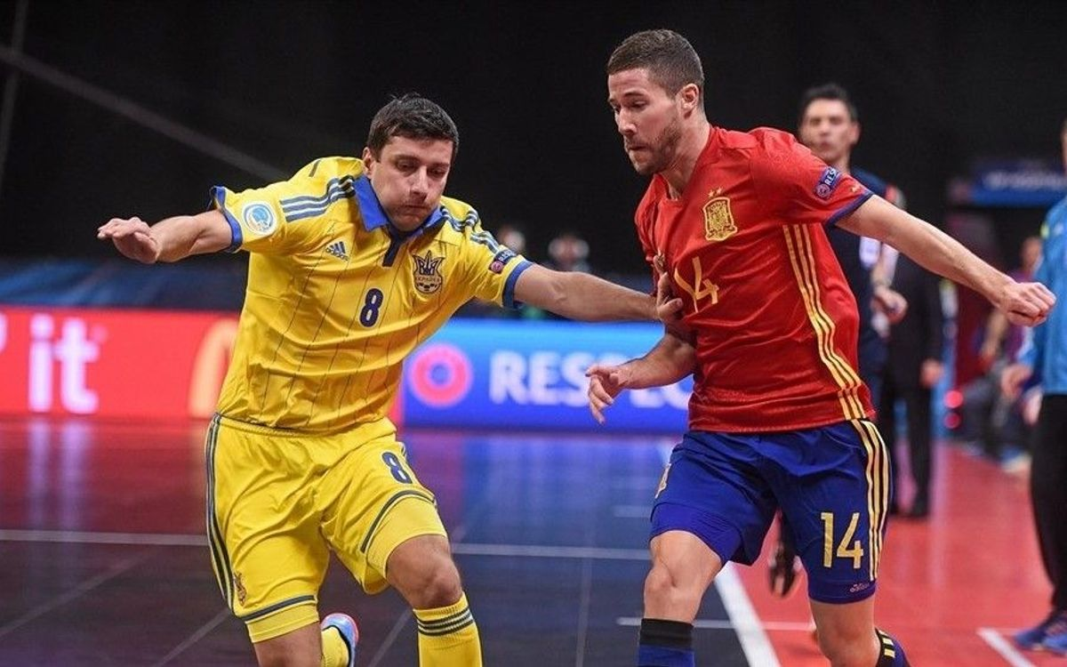 Ucraïna 1 – Espanya 4: Classificats per a quarts