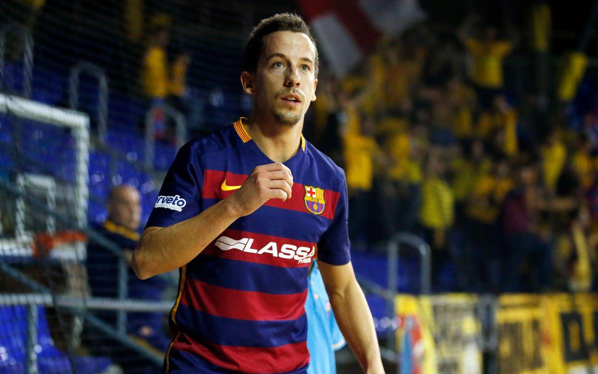 Dos del Barça Lassa con España y uno con Brasil