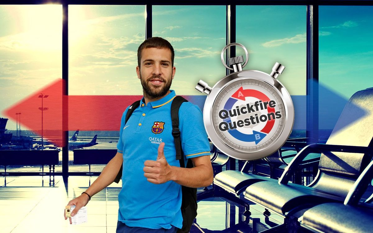 Without football, what would Jordi Alba have done?