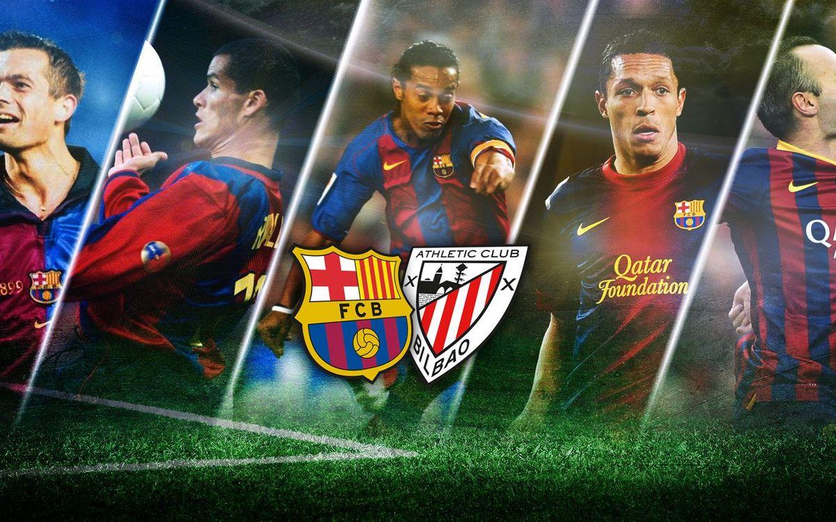 Millors gols contra l'Athletic al Camp Nou