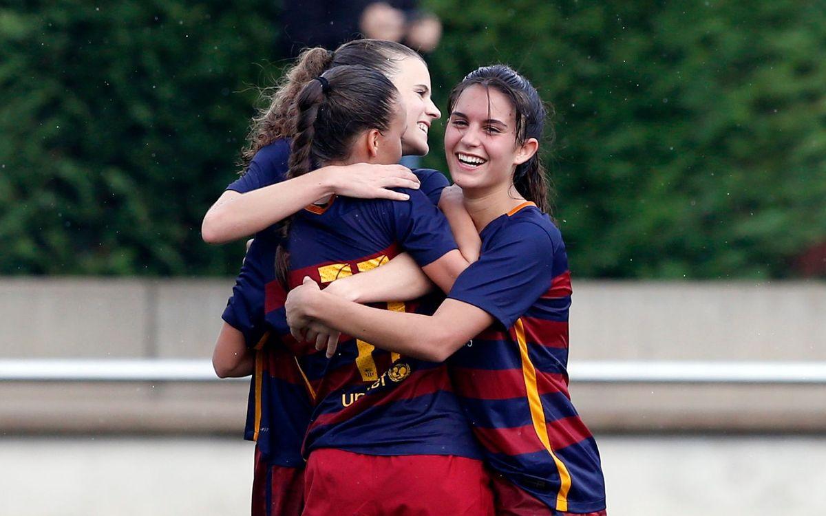 El FC Barcelona Femenino B, más líder de Segunda División