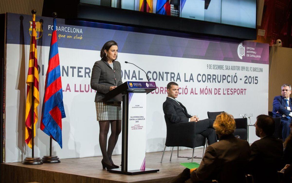 Jornada contra la corrupción en el mundo del deporte