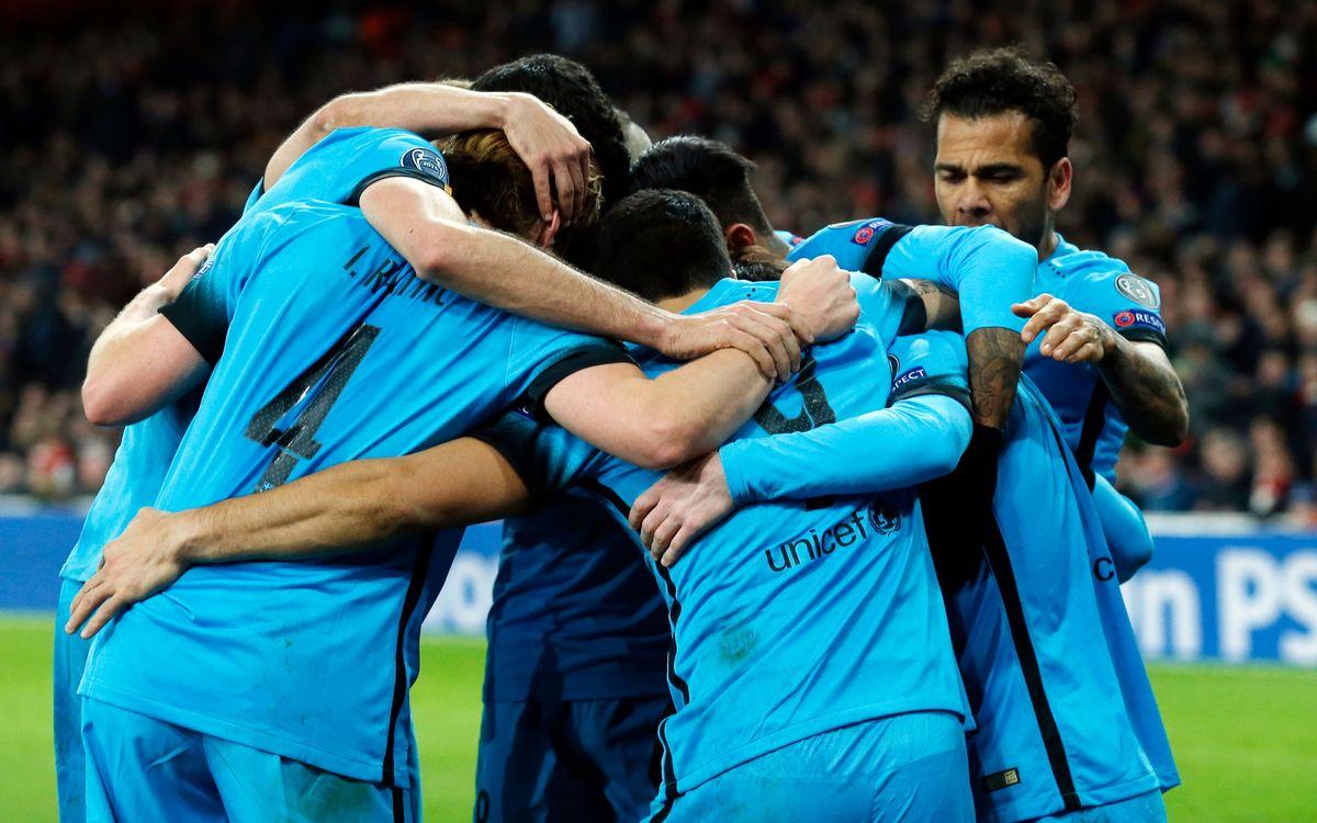 Les cinc claus del valuós triomf a l'Arsenal Stadium