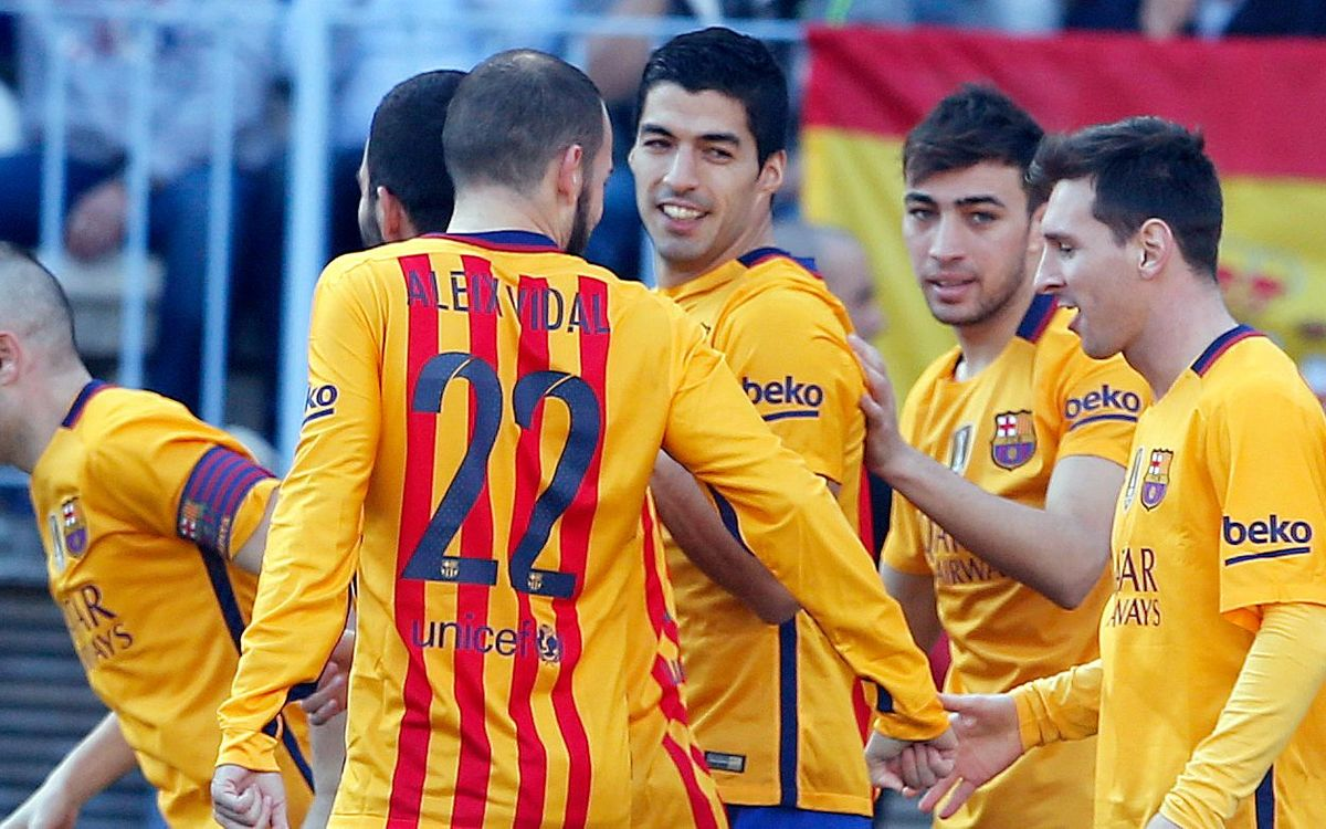 FC Barcelona continue winning without trident