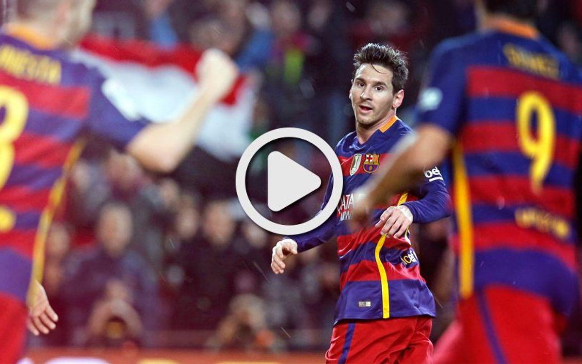 [COPA DEL REI] El vídeo resum del FC Barcelona - València