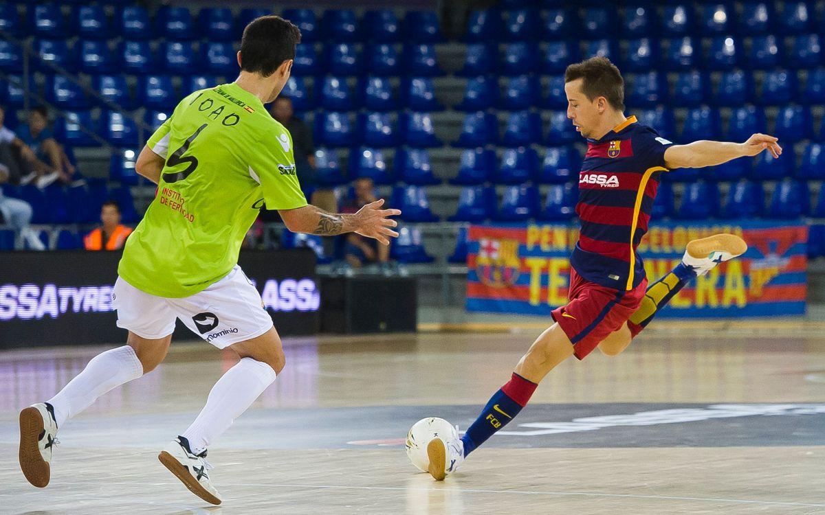 El Barça Lassa busca la remuntada a Palma