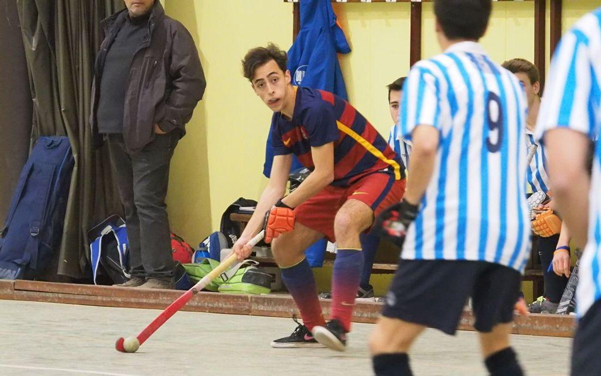 El Juvenil del Barça de hockey sala, subcampeón de Cataluña