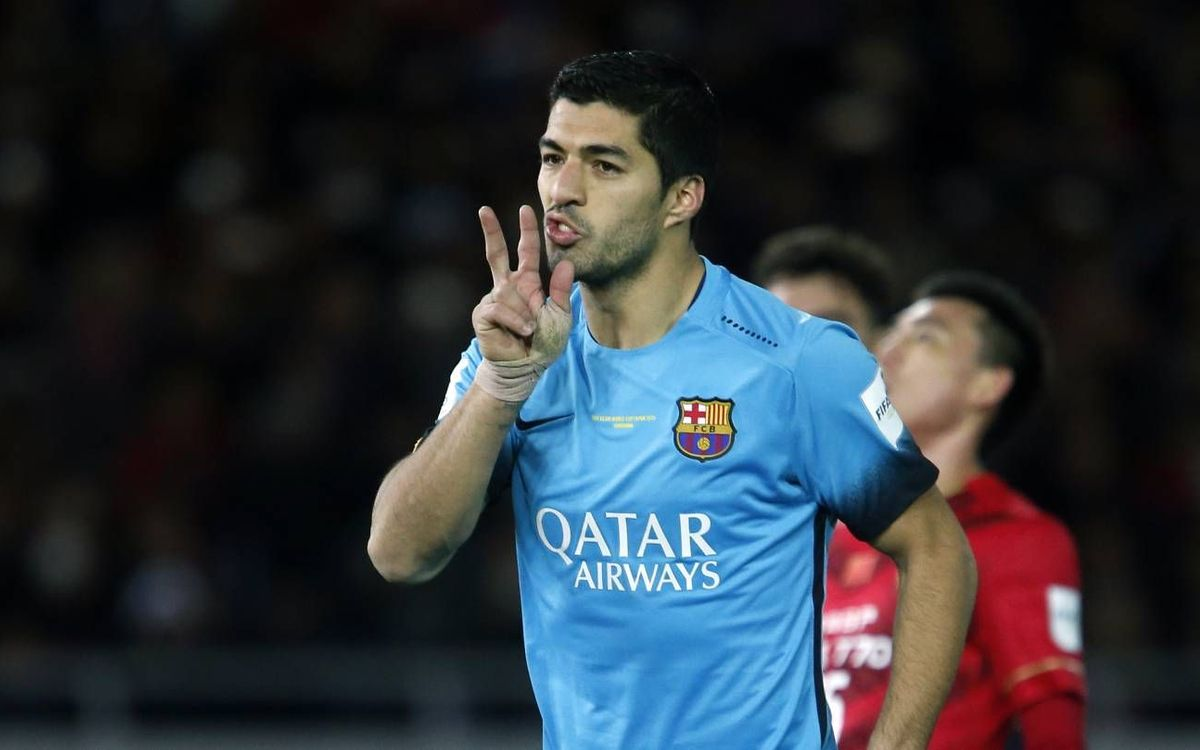 Luis Suárez scores first ever hat-trick in Club World Cup