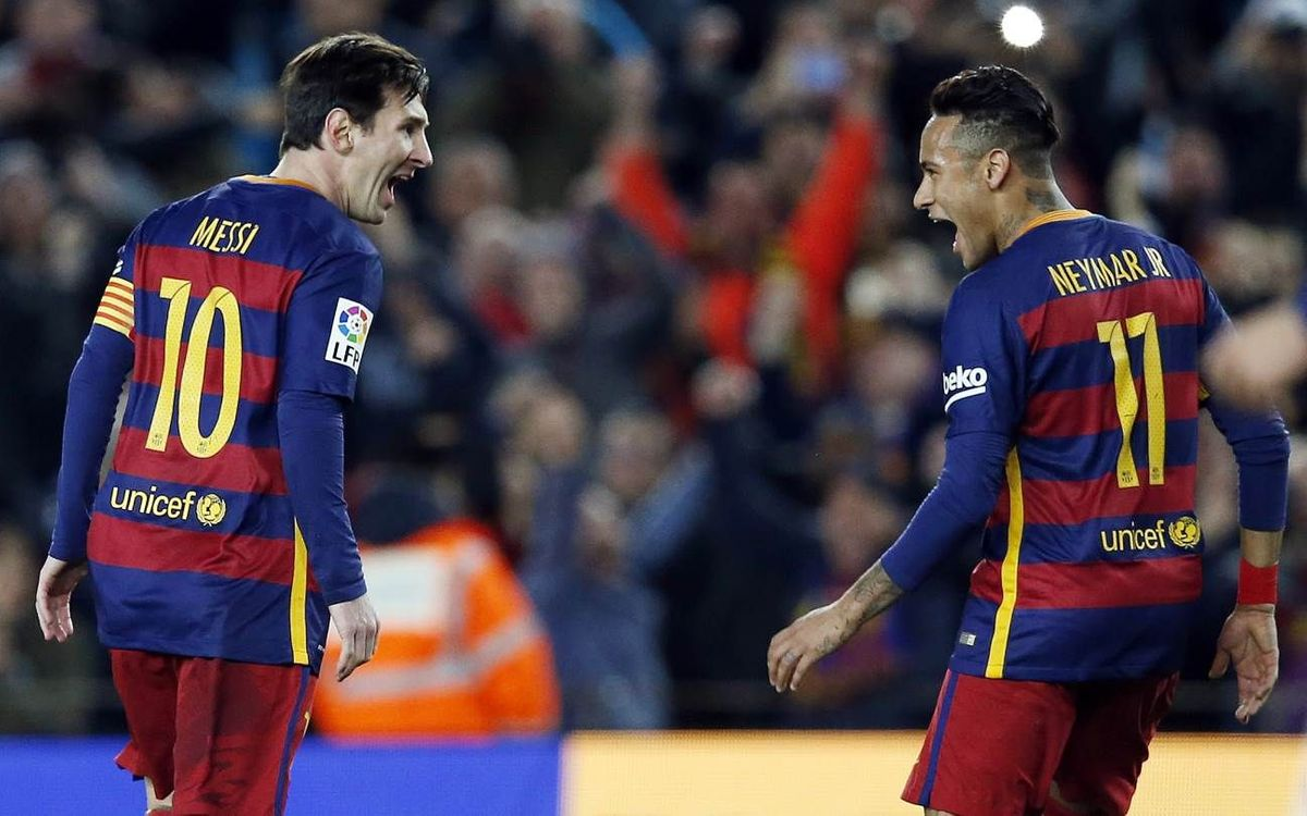 FC Barcelona top Sevilla 2–1, extend unbeaten streak to 34 games