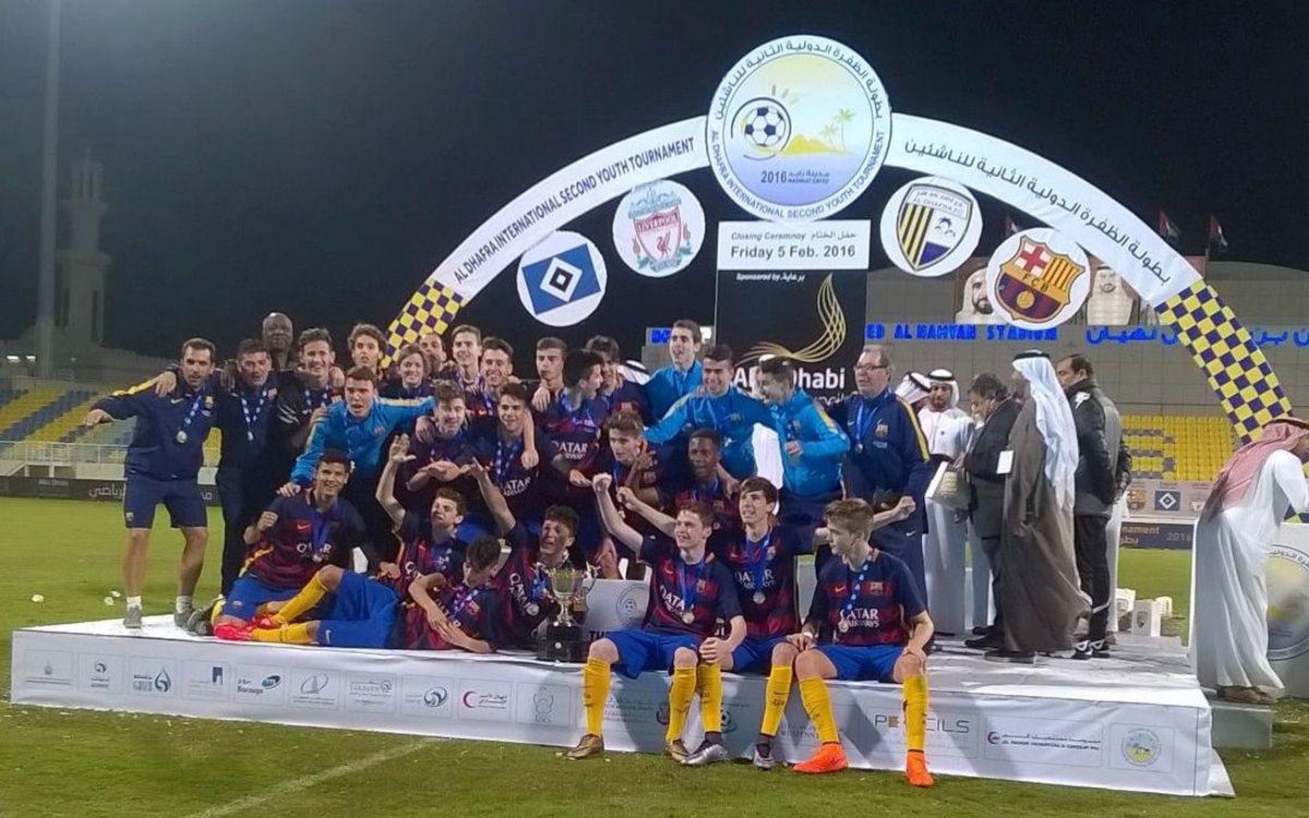 El Cadete A gana el Torneo Internacional de Abu Dhabi