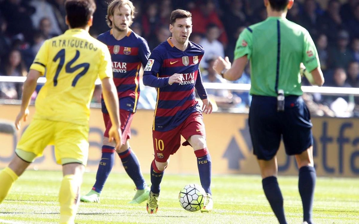 FC Barcelona held by Villarreal in 2–2 draw at El Madrigal