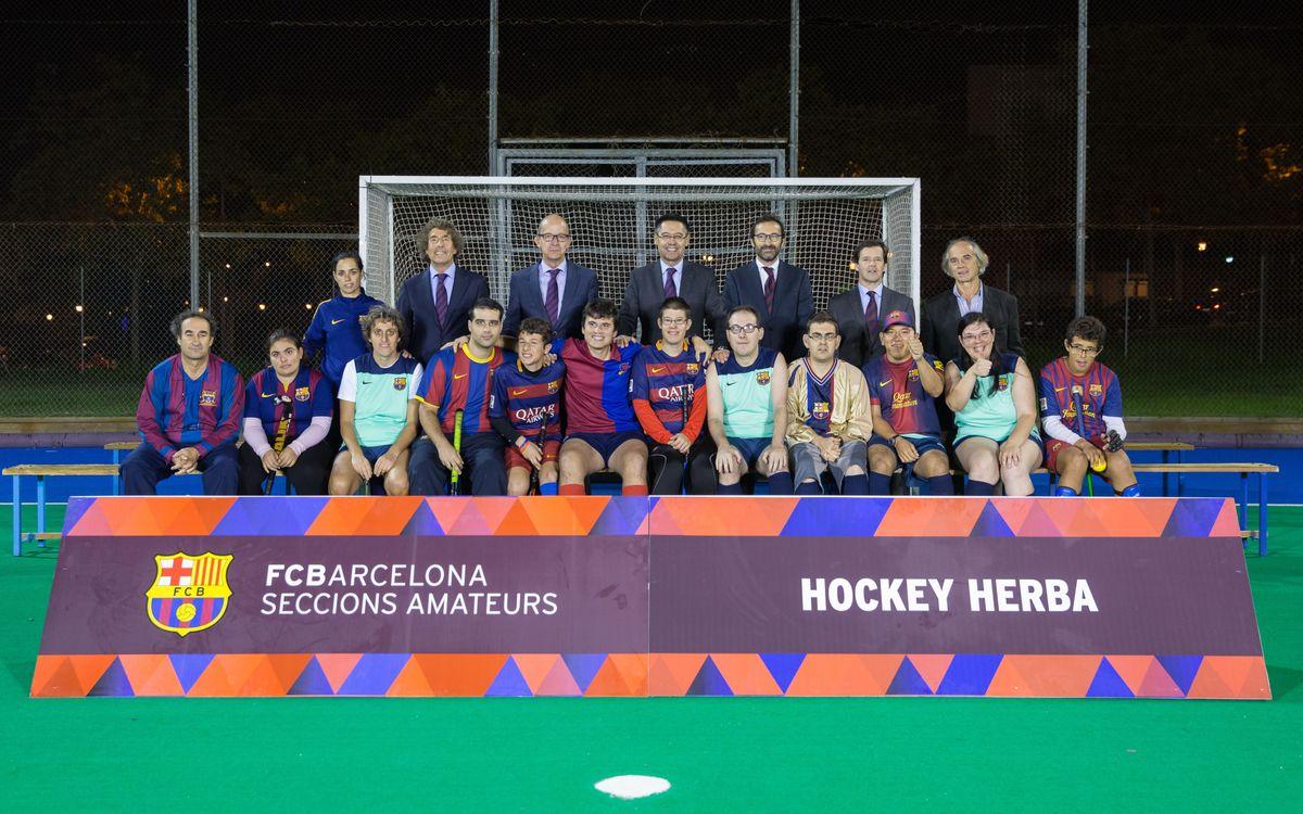 El proyecto '+ Hockey', reconocido internacionalmente