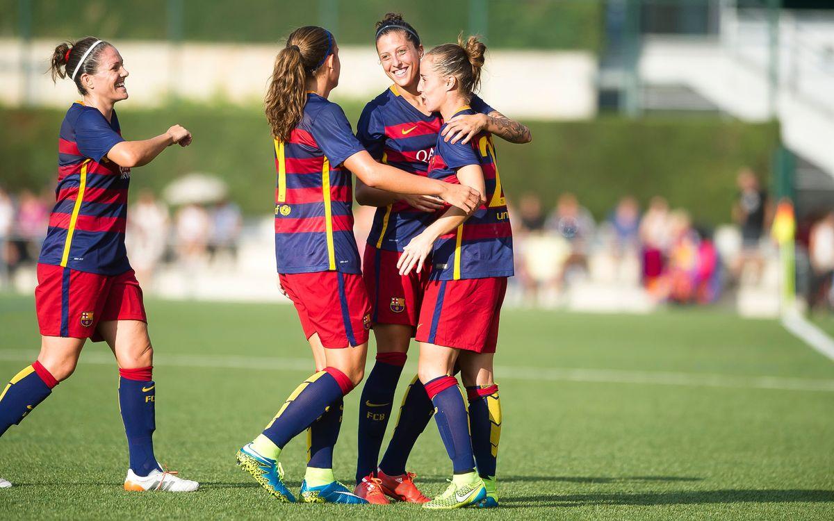 FC Barcelona Femenino - Oiartzun KE (Previa): Volver a empezar