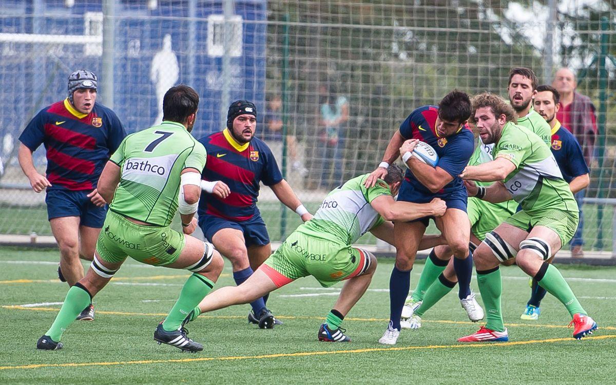 FC Barcelona 40 – Getxo Artea 20: Una nueva victoria para los chicos del rugby