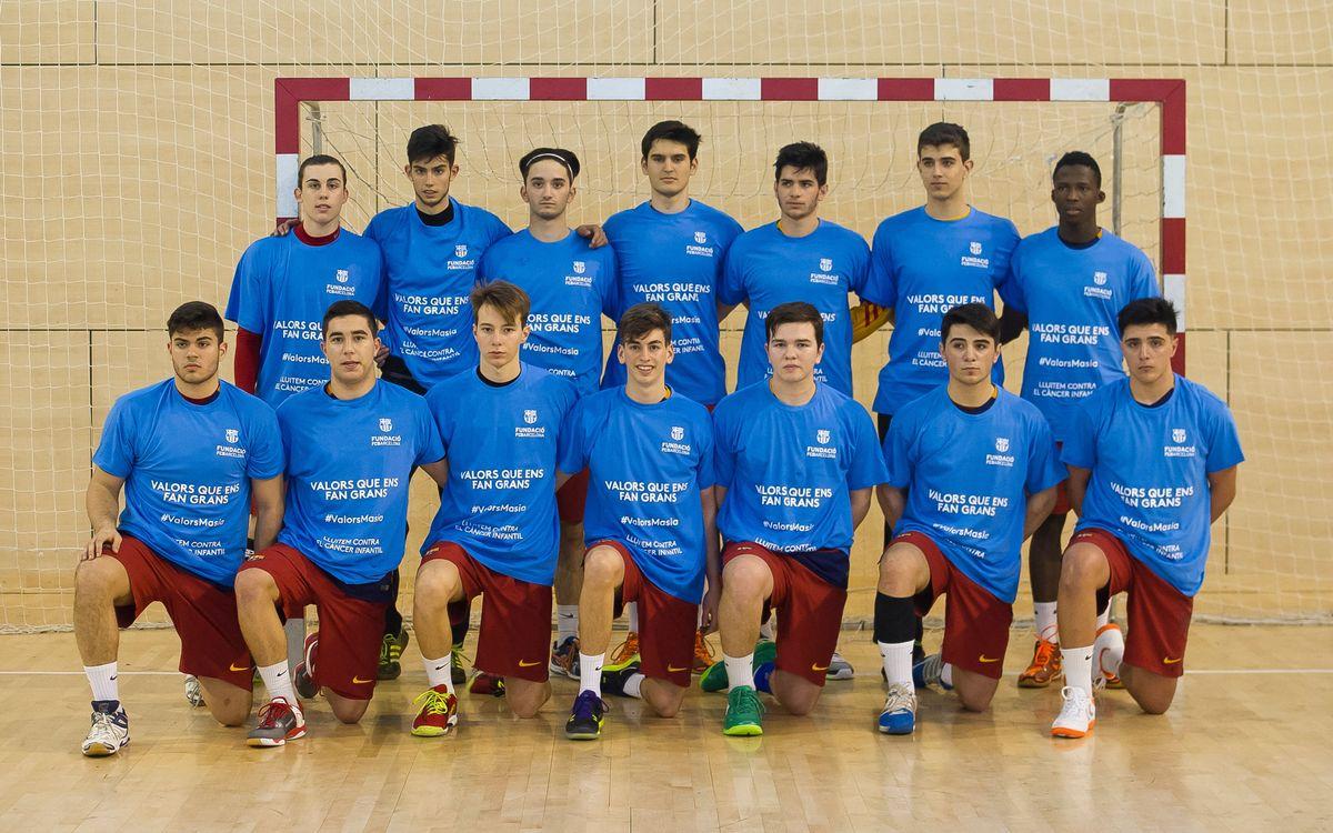 La setmana de l'handbol formatiu del Barça Lassa