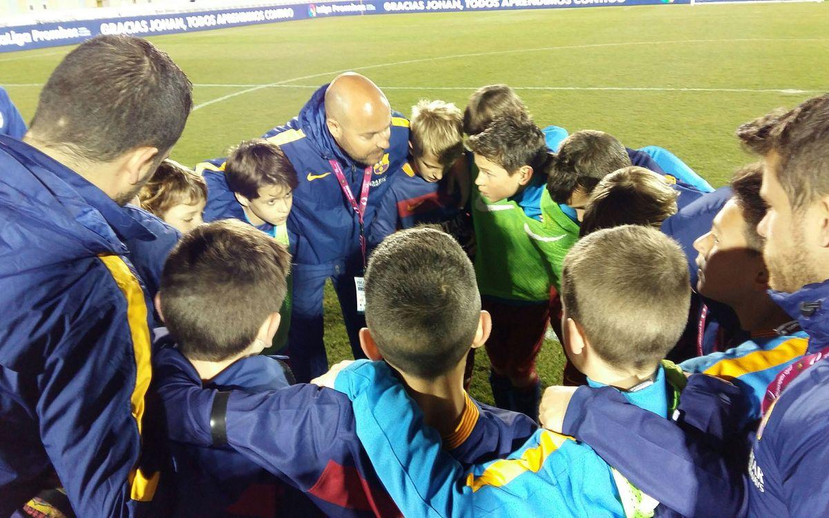 El Benjamín A jugará la final de la Íscar Cup Laliga Promises