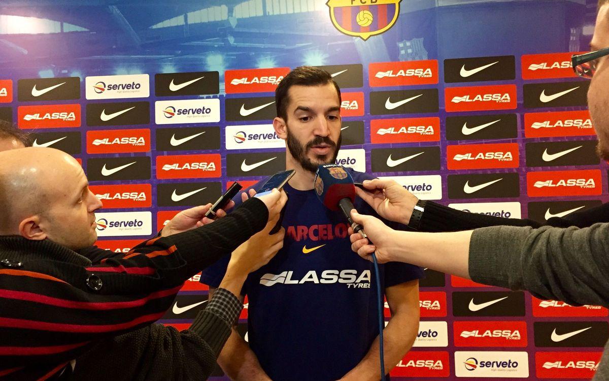 Ribas s'enfronta per primer cop amb el seu exequip, el València Basket