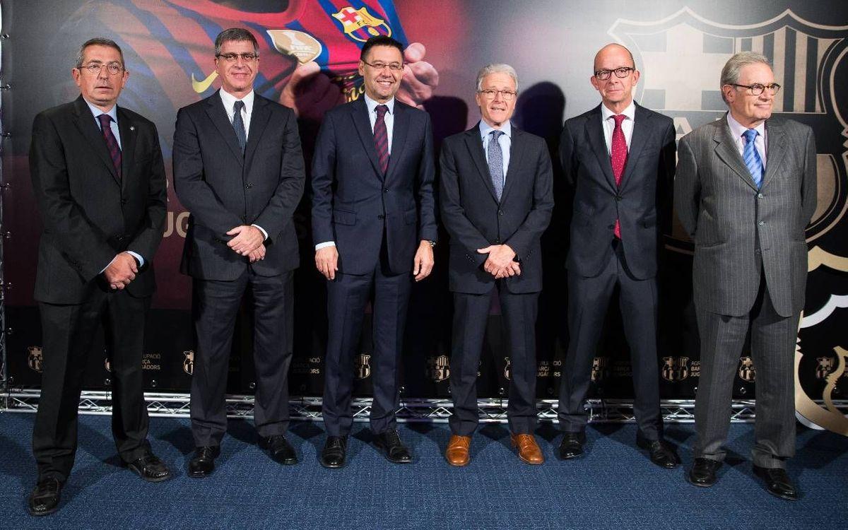 El FC Barcelona y la Agrupación Barça Jugadores ponen en marcha el programa 'FCB Legends'