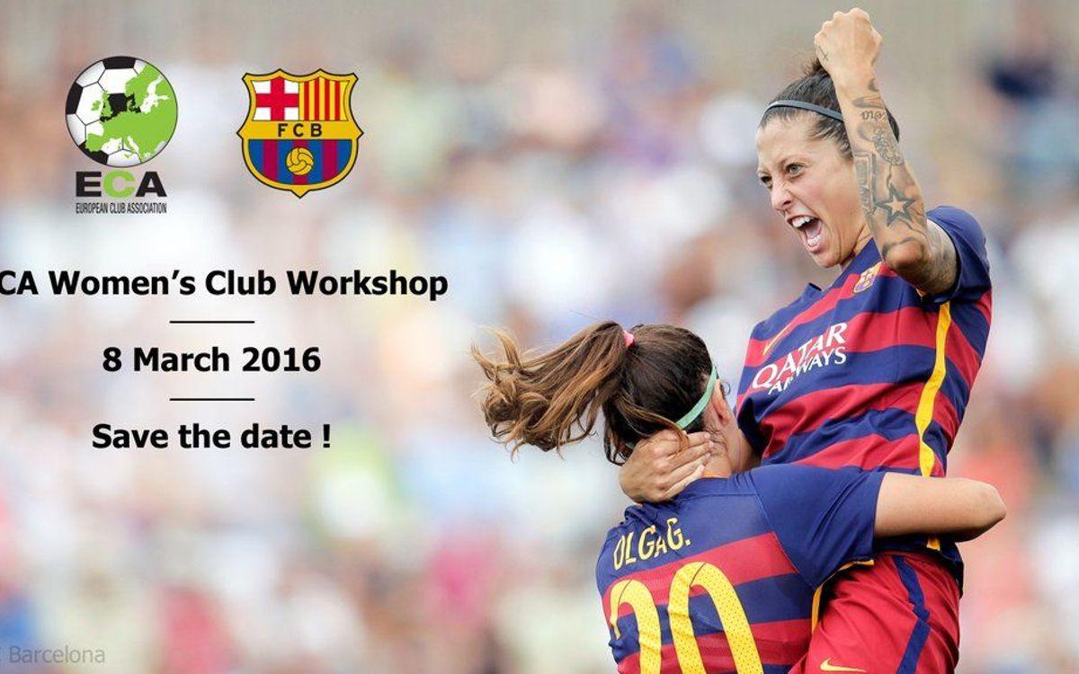 L'ECA Women's Football Committee es reuneix a la Masia aquest dimarts