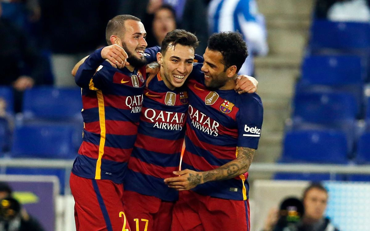 RCD Espanyol v FC Barcelona: Through to the last eight (0-2)