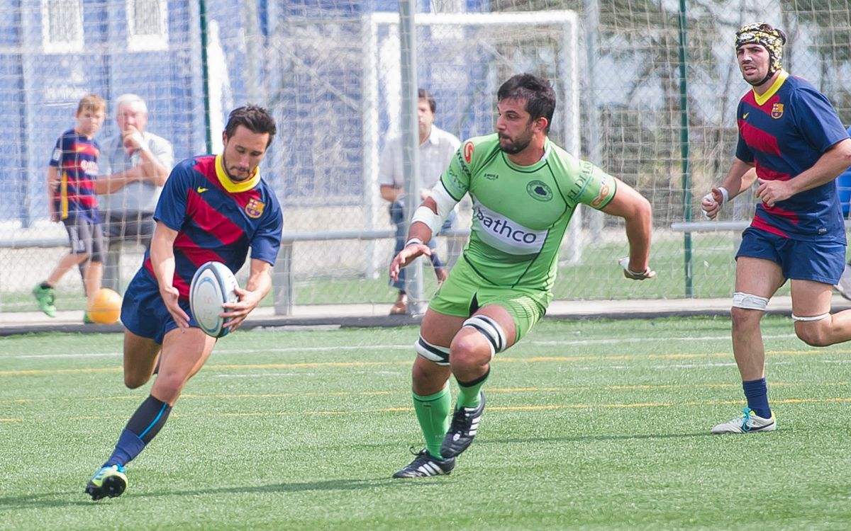 FC Barcelona 23 – Alcobendas Rugby 16: Somiant amb el play-off