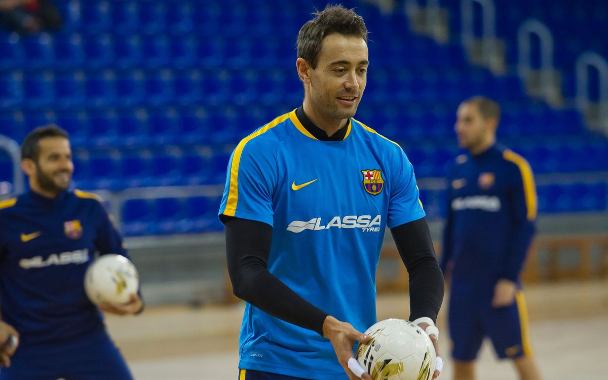 El Barça Lassa vuelve a a entrenarse otra vez todos juntos