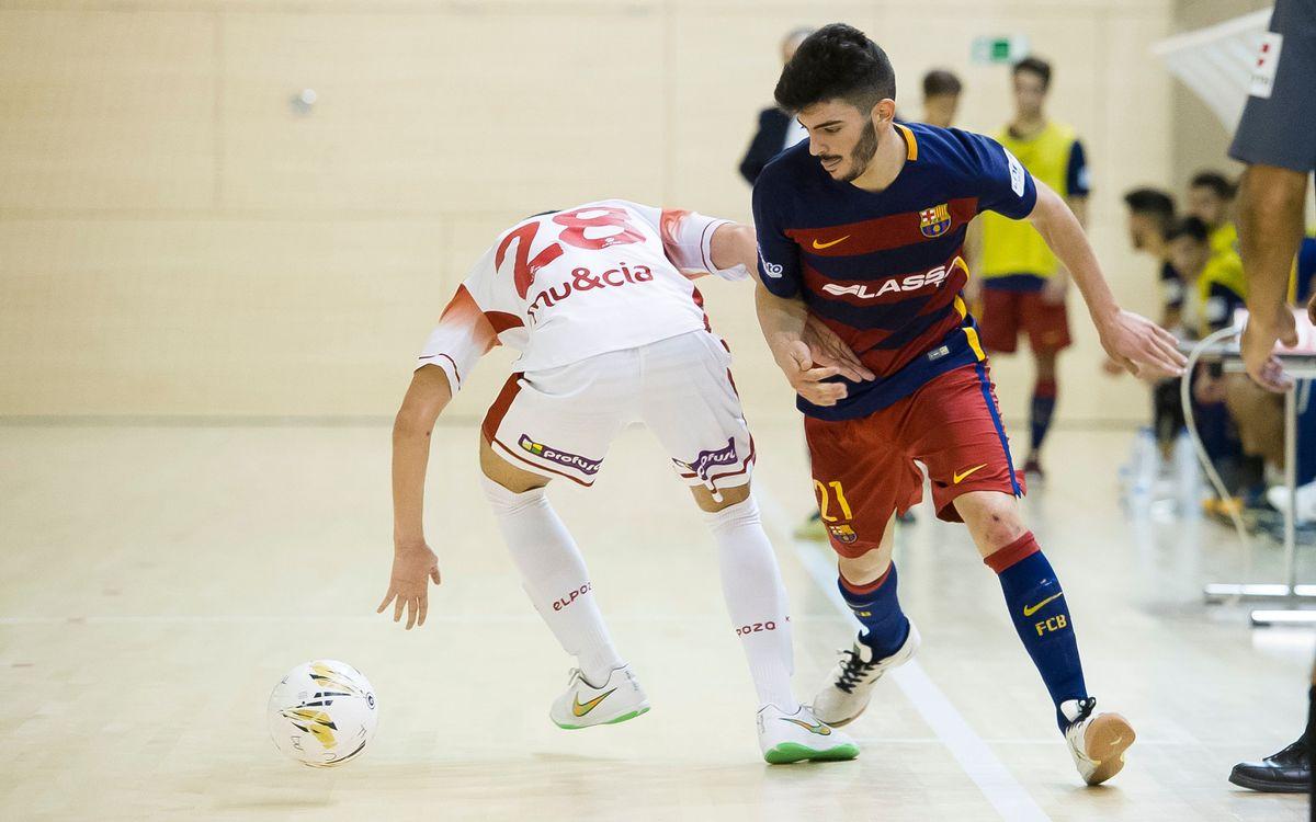 ElPozo Ciudad de Murcia 4 – FC Barcelona Lassa 2: El filial no puede ganar en Murcia