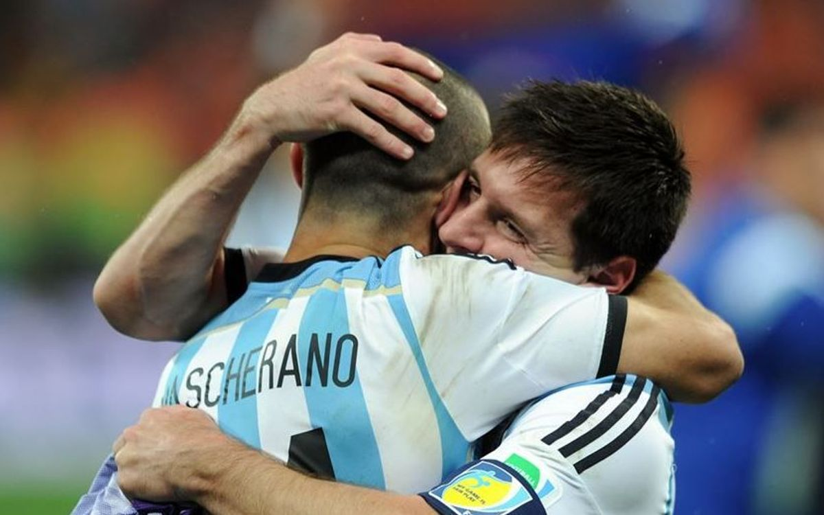 Leo Messi and Javier Mascherano picked for Argentina