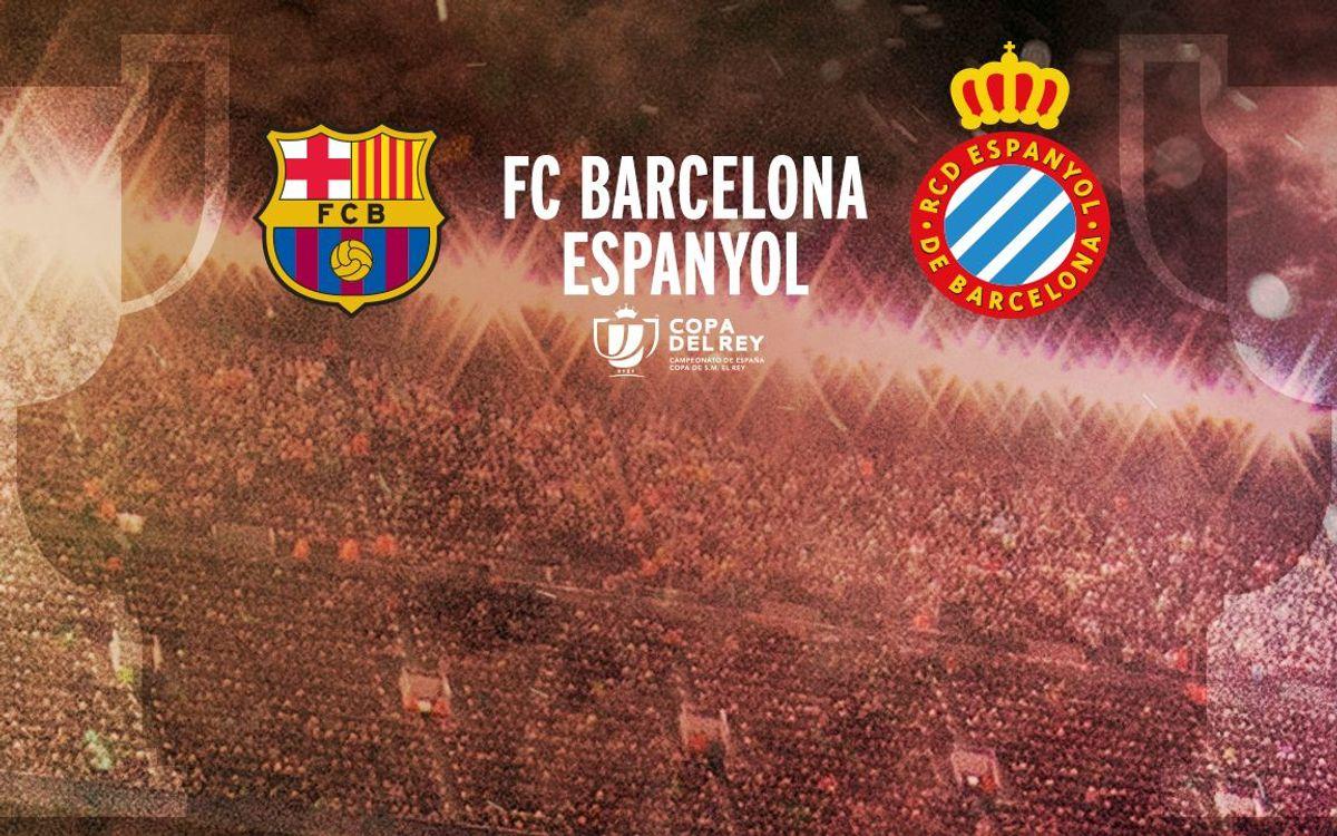 FC Barcelona-Espanyol, en los octavos de final de la Copa del Rey