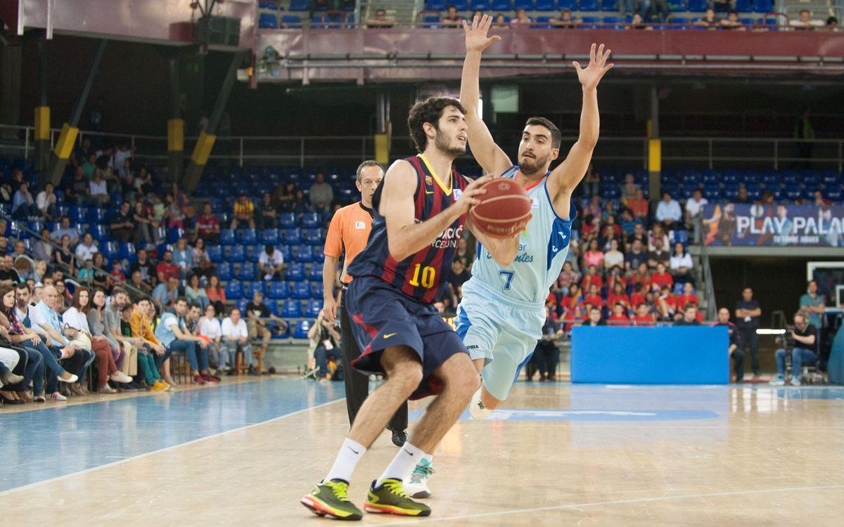 El Barça Lassa recibe a Movistar Estudiantes en el estreno de 2016 en el Palau