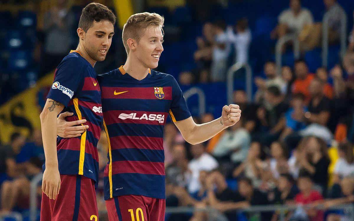 Jaén Paraíso Interior v FC Barcelona Lassa: Three points on the road (3-7)