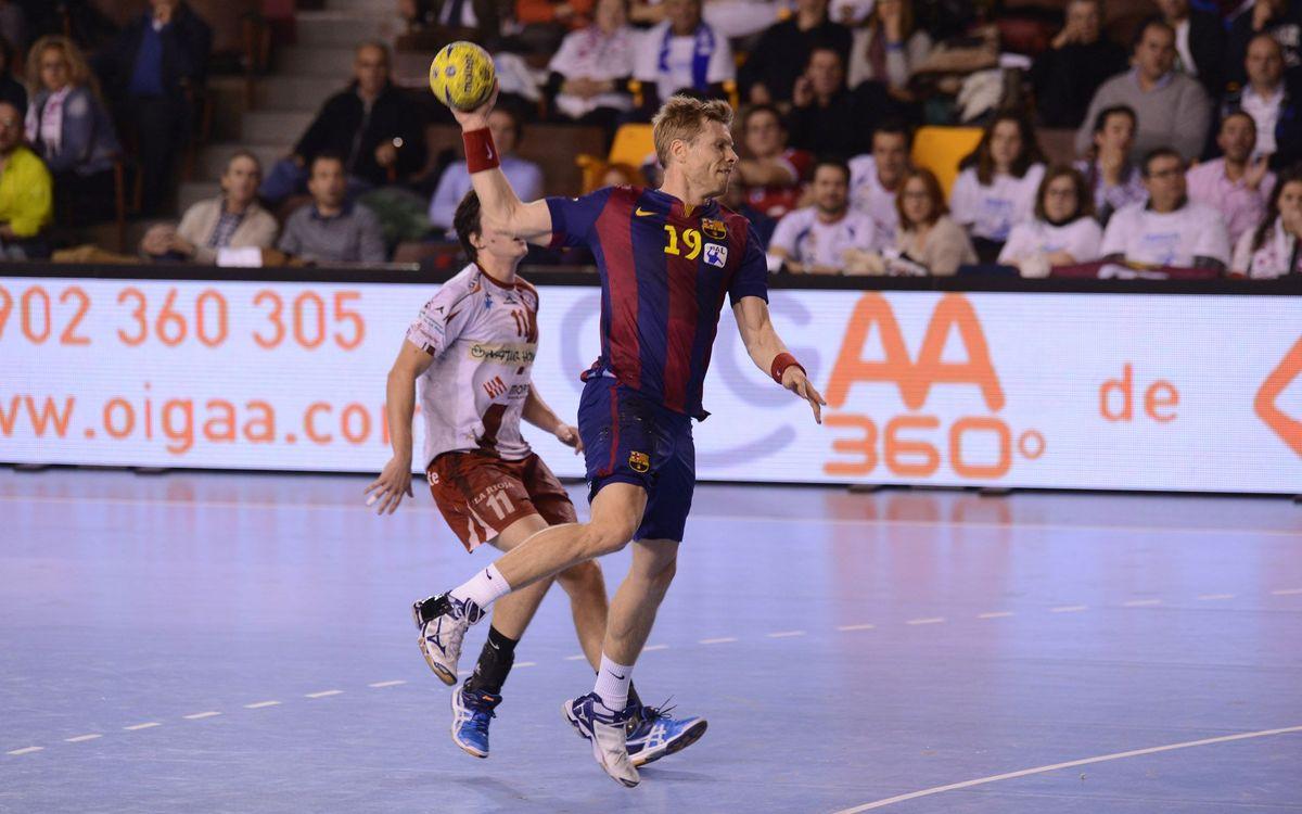Naturhouse La Rioja – FC Barcelona Lassa: Primera final de Copa Asobal