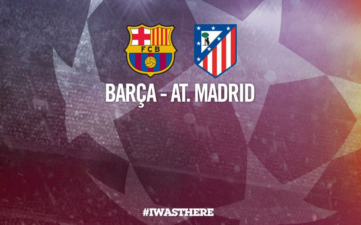 Ticket applications and sale for the Champions League game against Atlético Madrid
