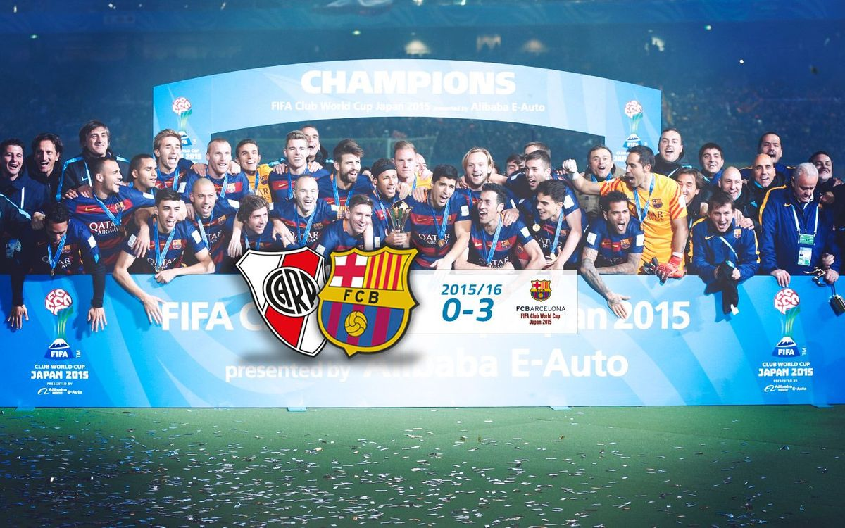 River Plate: 0 - FC Barcelona: 3 (Final)