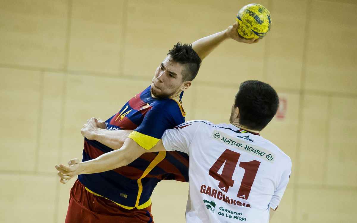FC Barcelona Lassa B v Naturhouse La Rioja: Logical defeat (25-32)