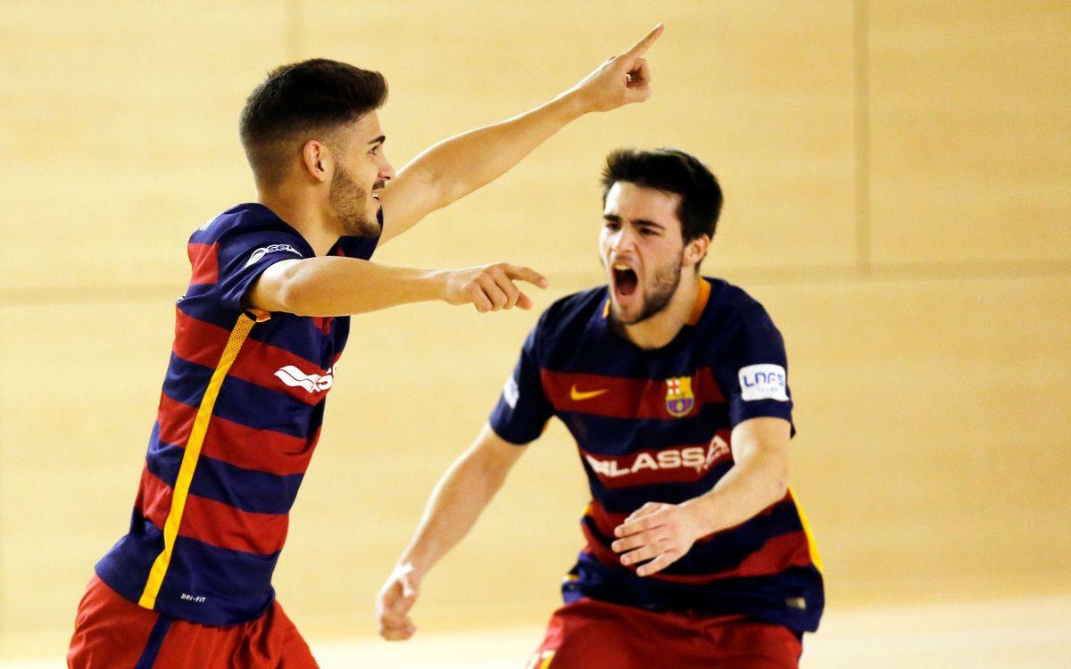 FC Barcelona Lassa B – Naturpellet Segovia: Los blaugranas se dejan empatar en el último segundo