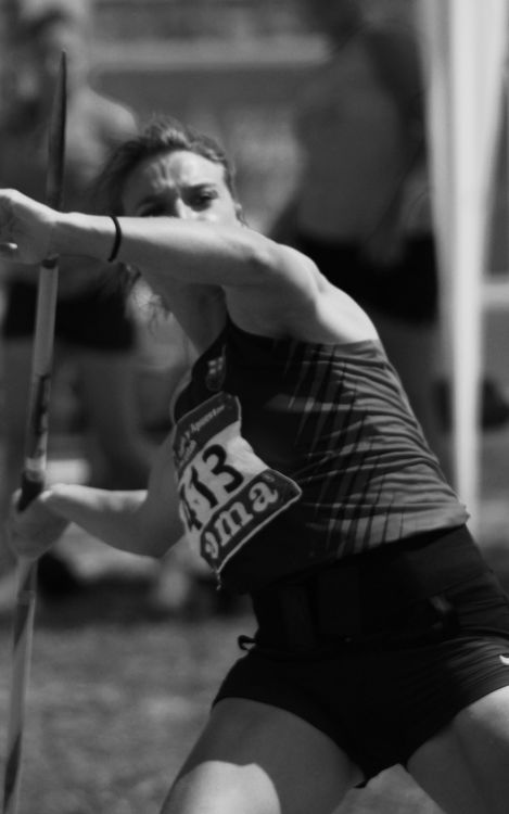 Arantza Moreno, bronce en jabalina en el Campeonato de Europa