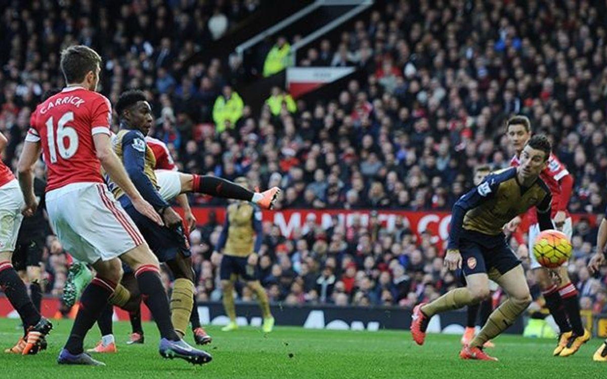 L'Arsenal cau a Old Trafford contra el Manchester United (2-3)