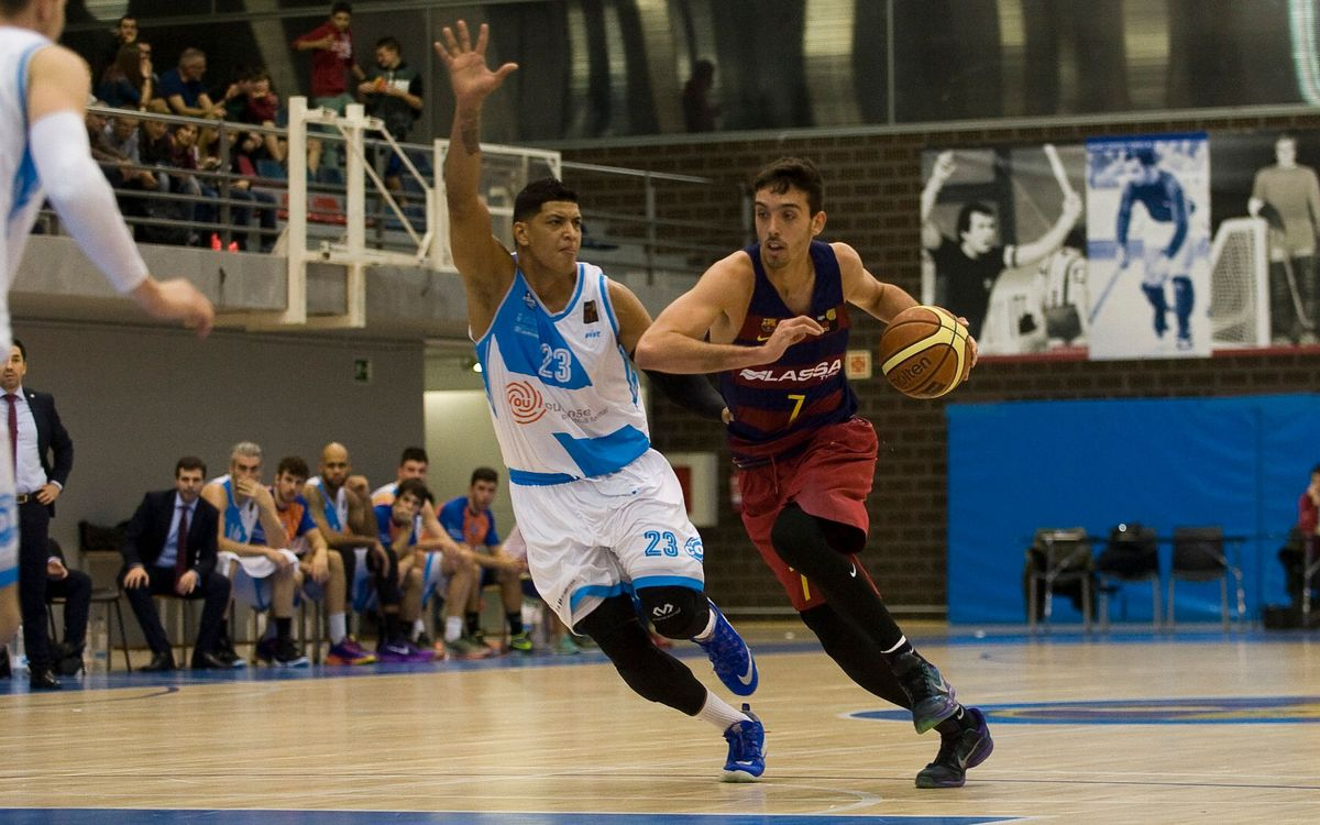 FC Barcelona Lassa B - Club Ourense Baloncesto: Segona victòria a casa (82-72)