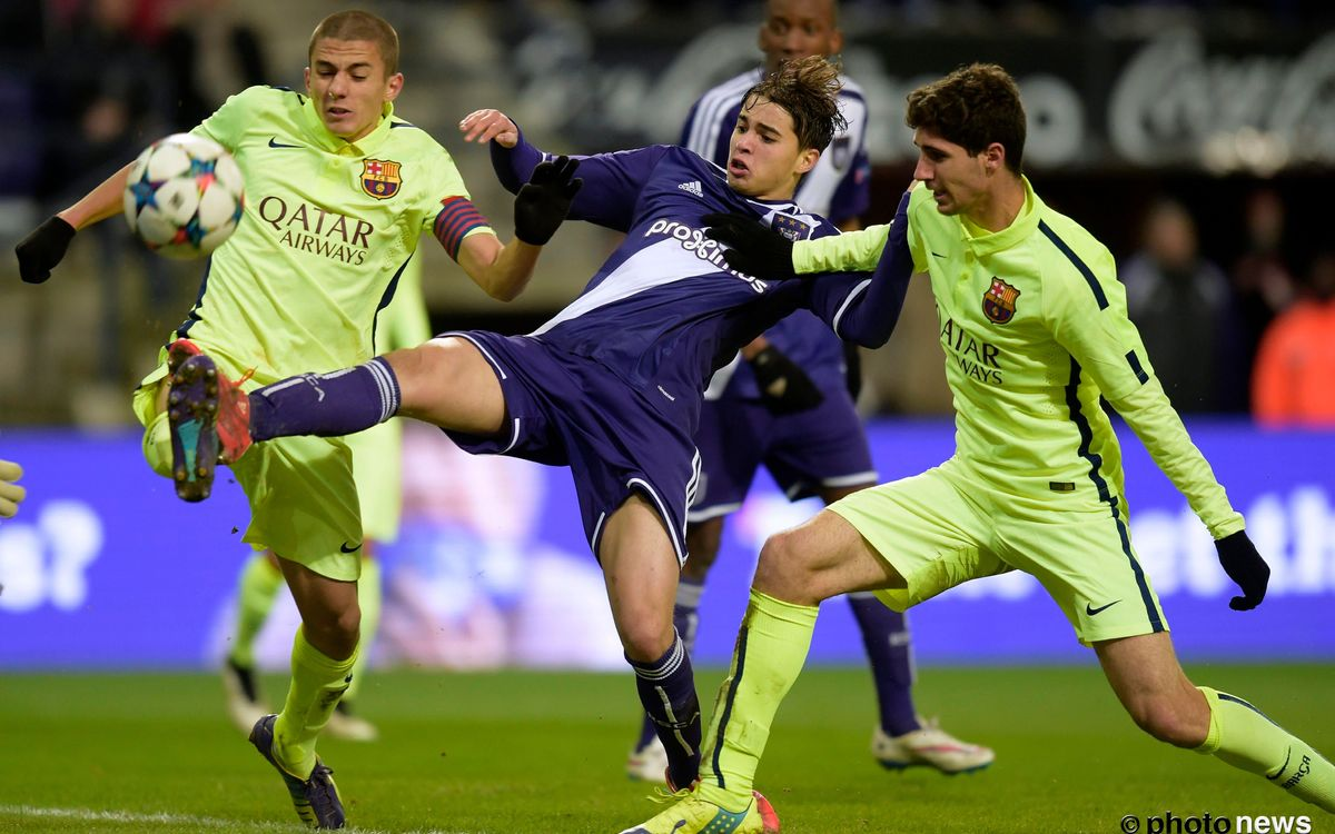 FC Barcelona to face Anderlecht in Youth League quarter-finals