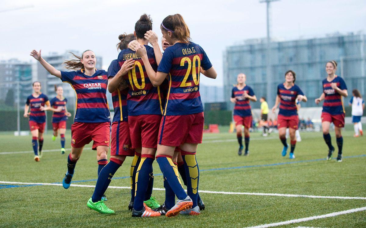 Transportes Alcaine - FC Barcelona Femenino: Primero, la Liga