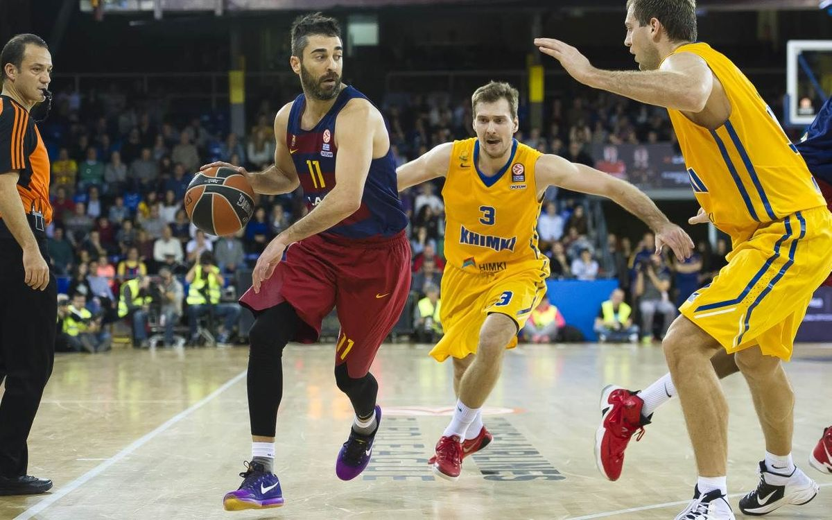 FC Barcelona Lassa v BC Khimki: First win in Top 16 (87-70)