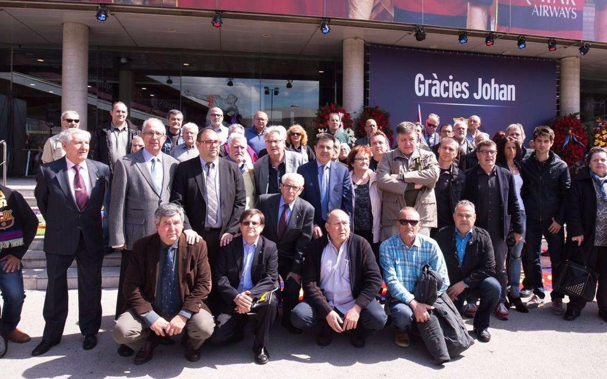 La Confederación rinde homenaje a Cruyff
