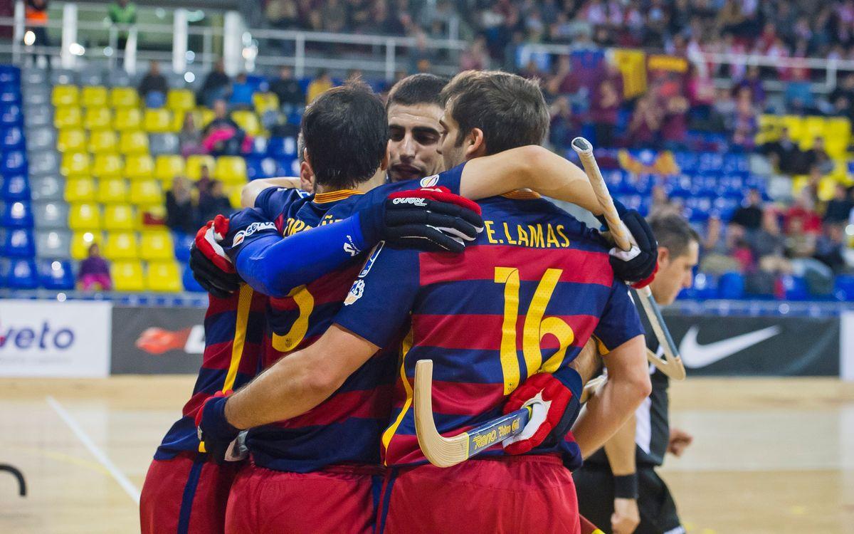 El Barça Lassa tanca la jornada 10 a dos punts del lideratge de l'OK Lliga